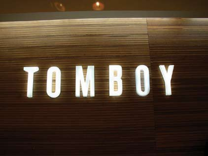 Tomboy signs